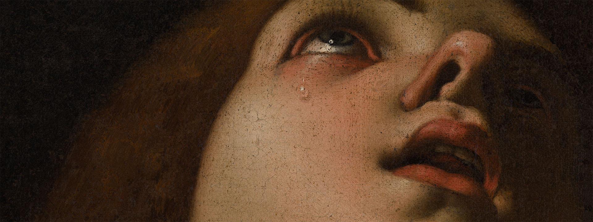 MAGDALENA PENITENT - Pedro Orrente - Museu de Belles Arts de València