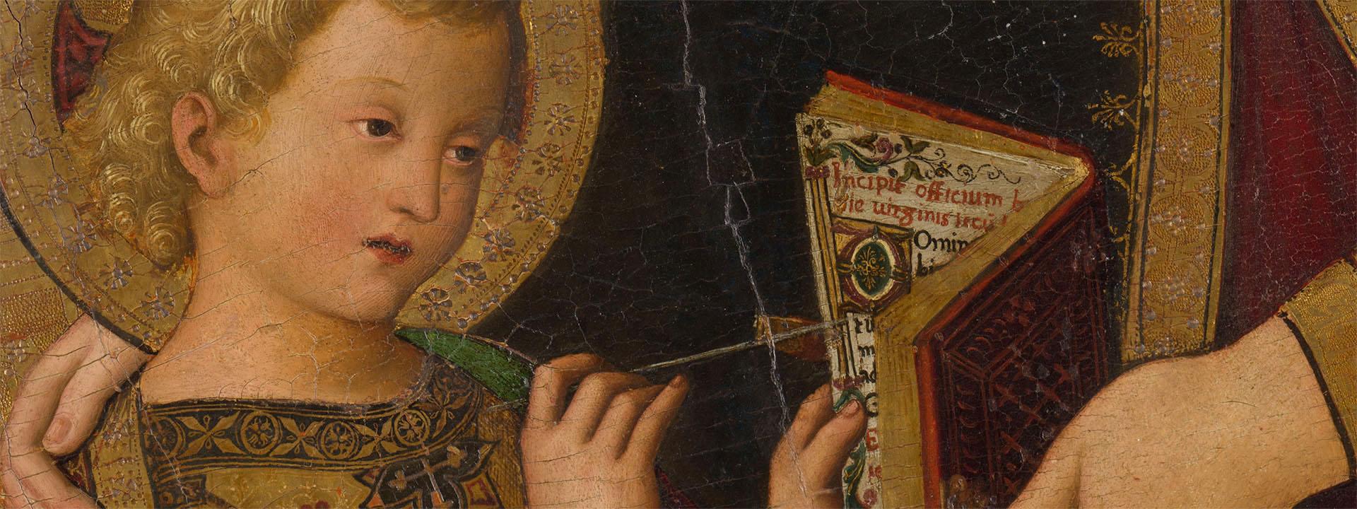 MARE DE DÉU DE LES FEBRES - 'Il Pinturicchio' - Museu de Belles Arts de València